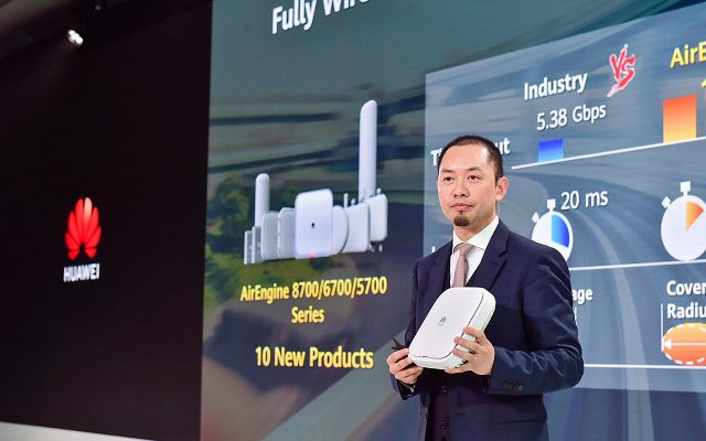 Huawei launches new products in the Wi-Fi 6 space